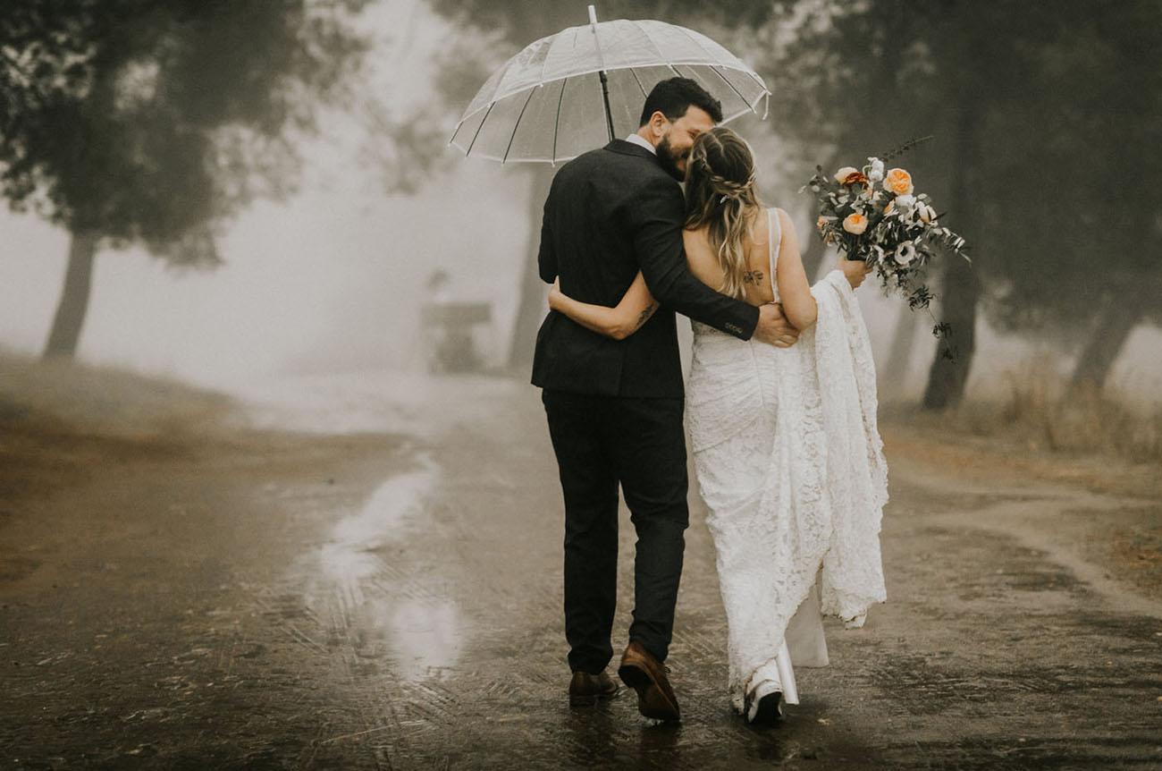 結婚式で雨がふったら…?実は特別な結婚式の雨と、雨の日だけの素敵な演出!