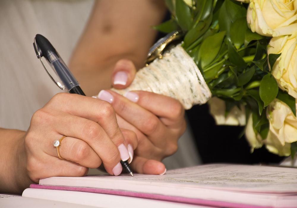 オリジナルデザインの結婚証明書のおすすめアイディア♪